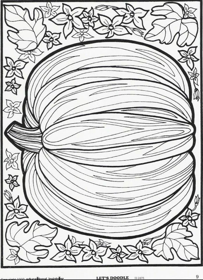 Get This Autumn Coloring Pages for Adults Free Printable ...