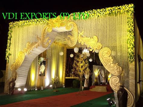 WEDDING DECOR ENTRANCE GATE ETC and Indian Wedding