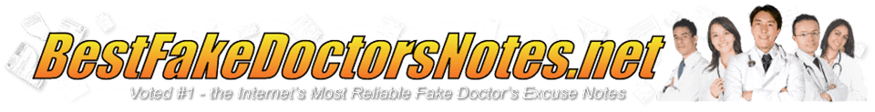 Using Fake Hospital Discharge Papers