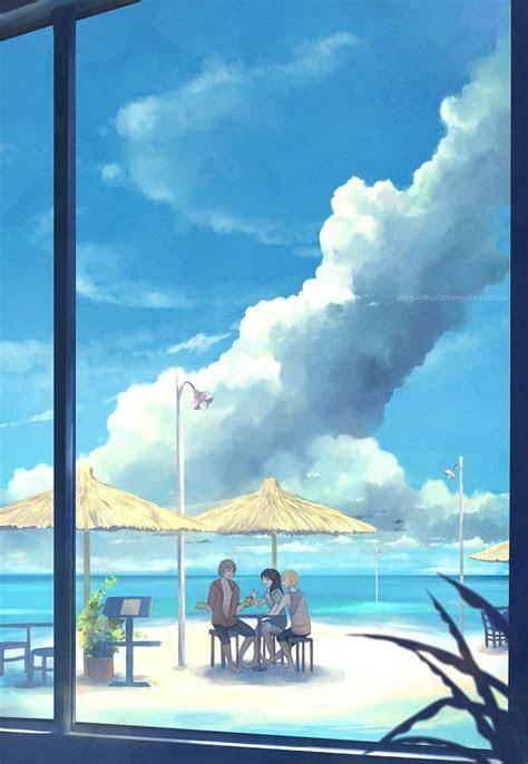 beach cafe  megatruhdeviantartcom  atdeviantart