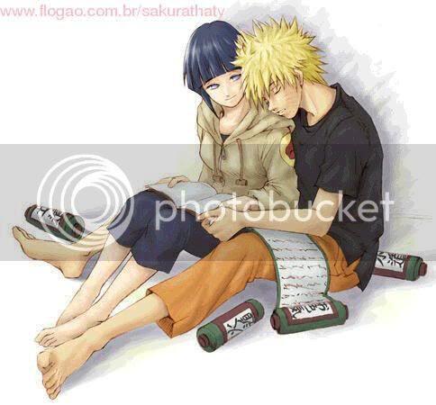 Naruto and Hinata in love