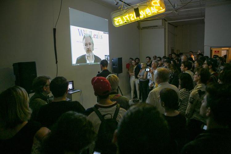 Julian Assange Book Tour
