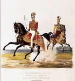 La guardia nobile nelle immagini di Trentsensky