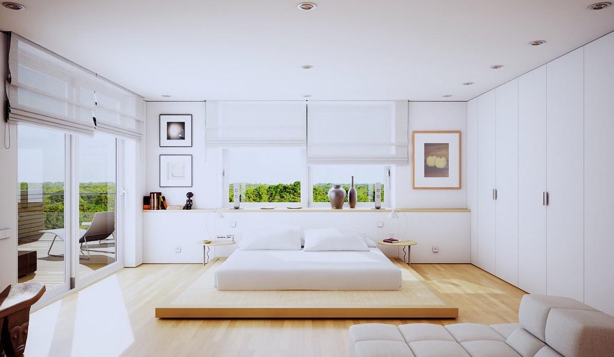 modern bedroom bed design