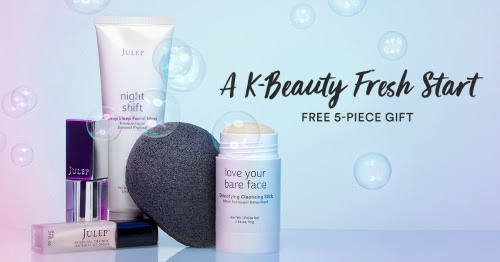5 pc GWP for New Julep Subscribers