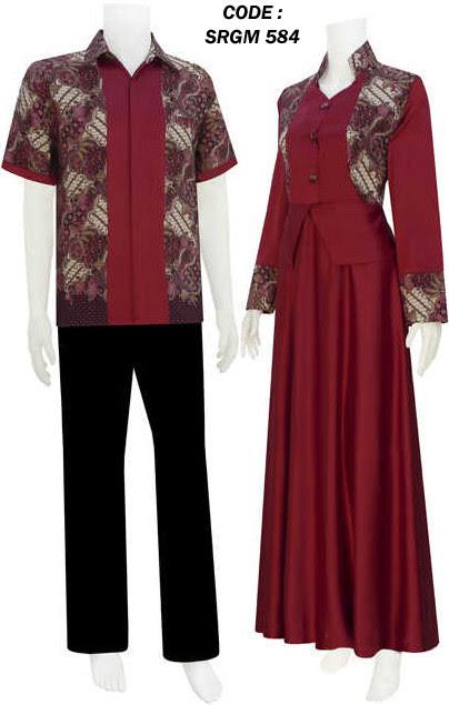 Gamis batik  model gaun code SRGM 58 modelsarimbitbatikmodern