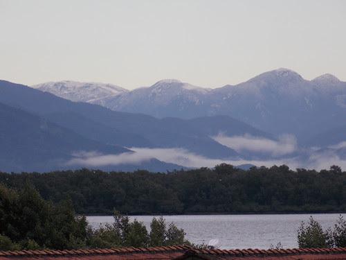 Neve na Serra do Tabuleiro