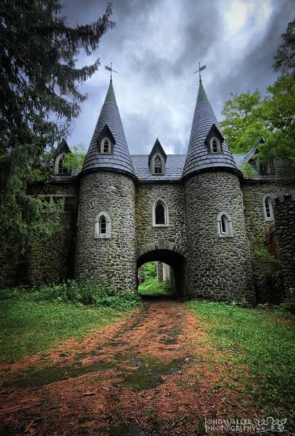 Abandoned New York Ravenloft Castle