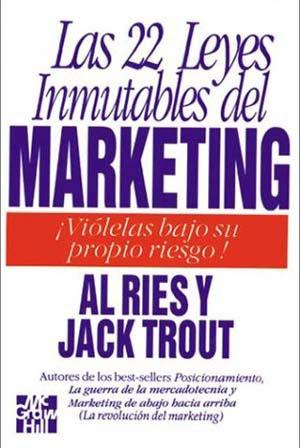 Resultado de imagen para Las 22 Leyes Inmutables del Marketing edicion