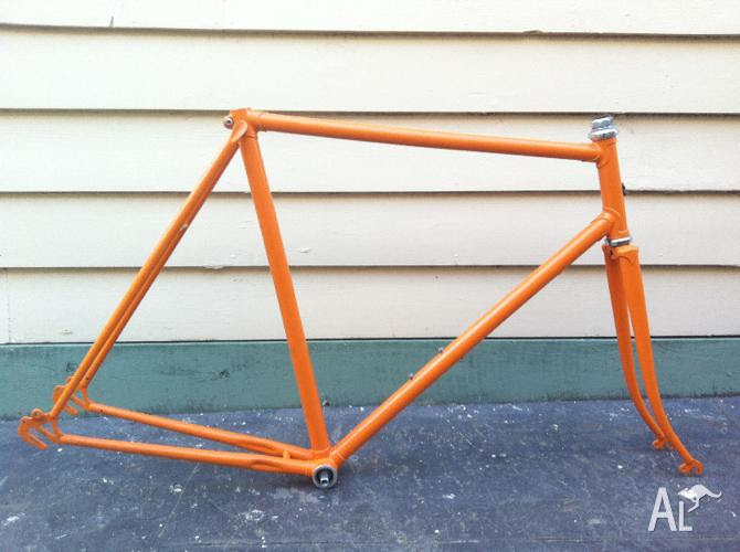 Malvern Star Vintage Steel Mens 57cm Road Bike Frame Tange 900 For