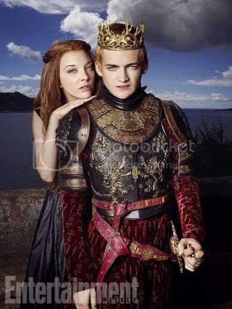 Joffrey Baratheon and Margaery Tyrell in Entertainment Weekly photo Margaery-Tyrell-King-Joffrey-Baratheon-Entertainment-Weekly-02_zps408d9966.jpg
