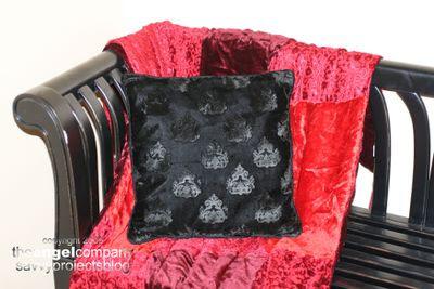 Candi Pillow Velvet Side