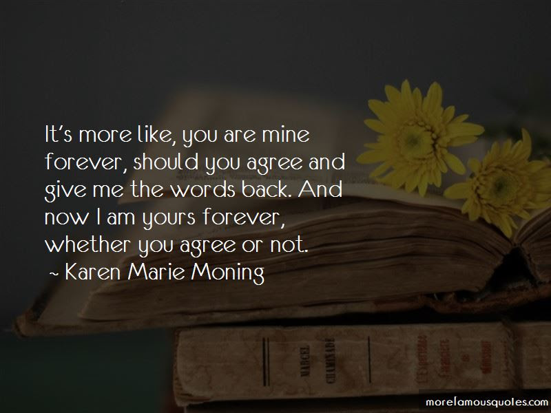 You Are Mine Forever Quotes Top 48 Quotes About You Are Mine