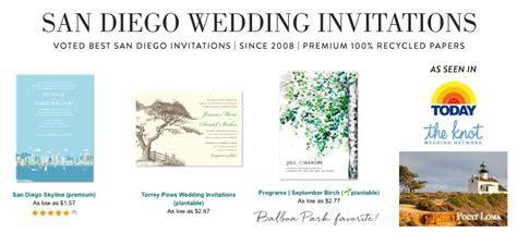 San Diego Wedding Invitations, San Diego Party Invitations