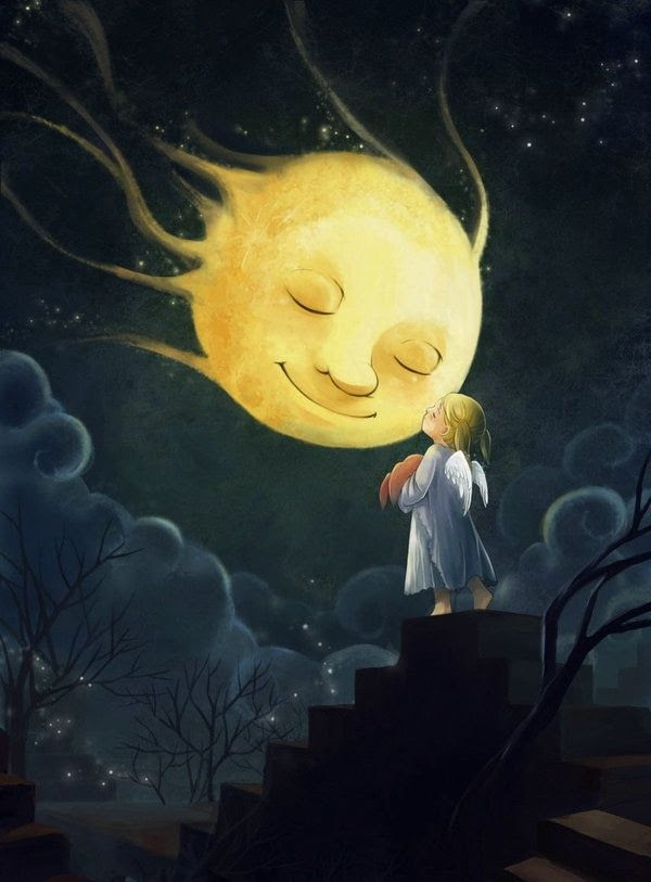 Good night, moon... <3                      Love it!!