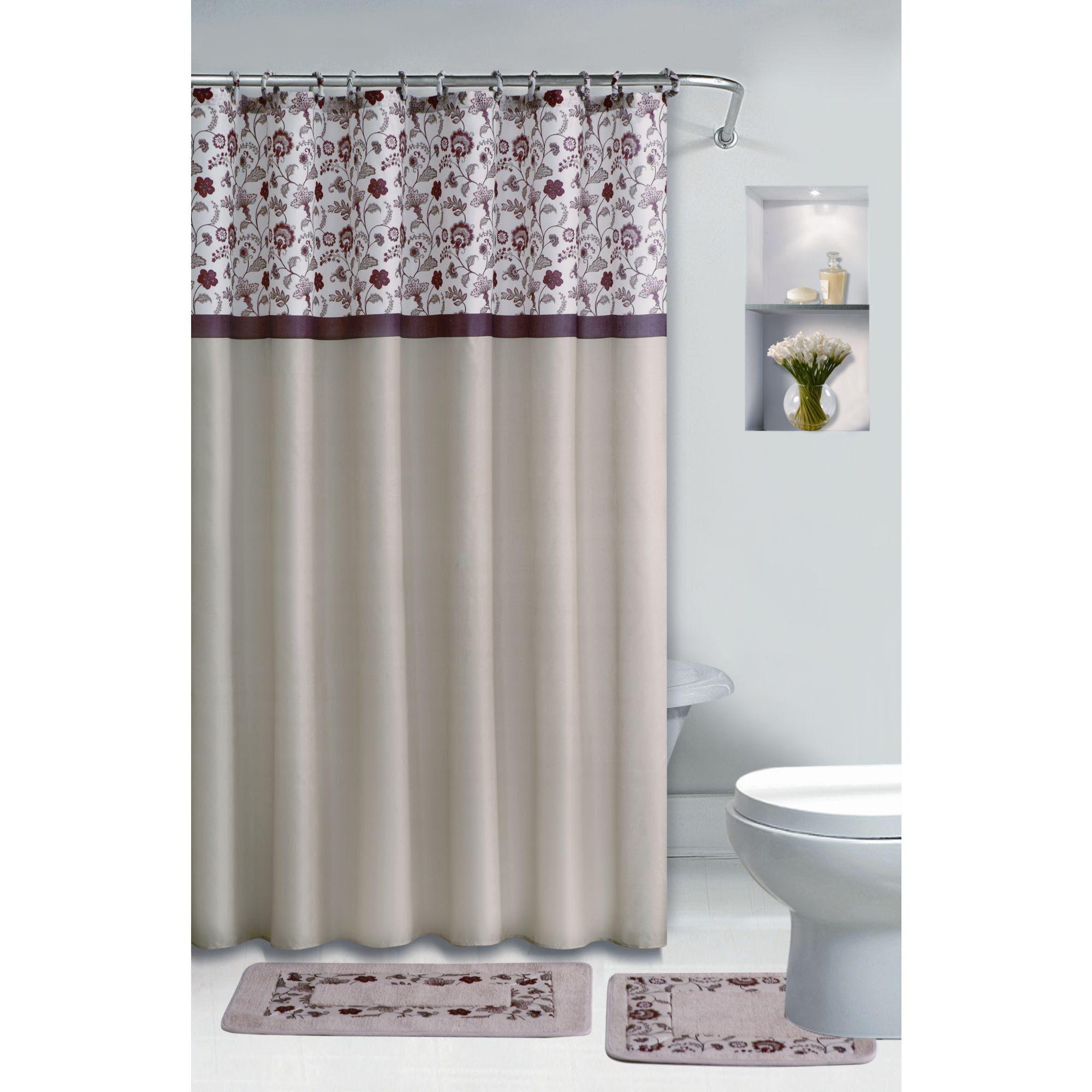 Essential Home 15pc Bath Set- Melbourne - Bed & Bath - Shower ...