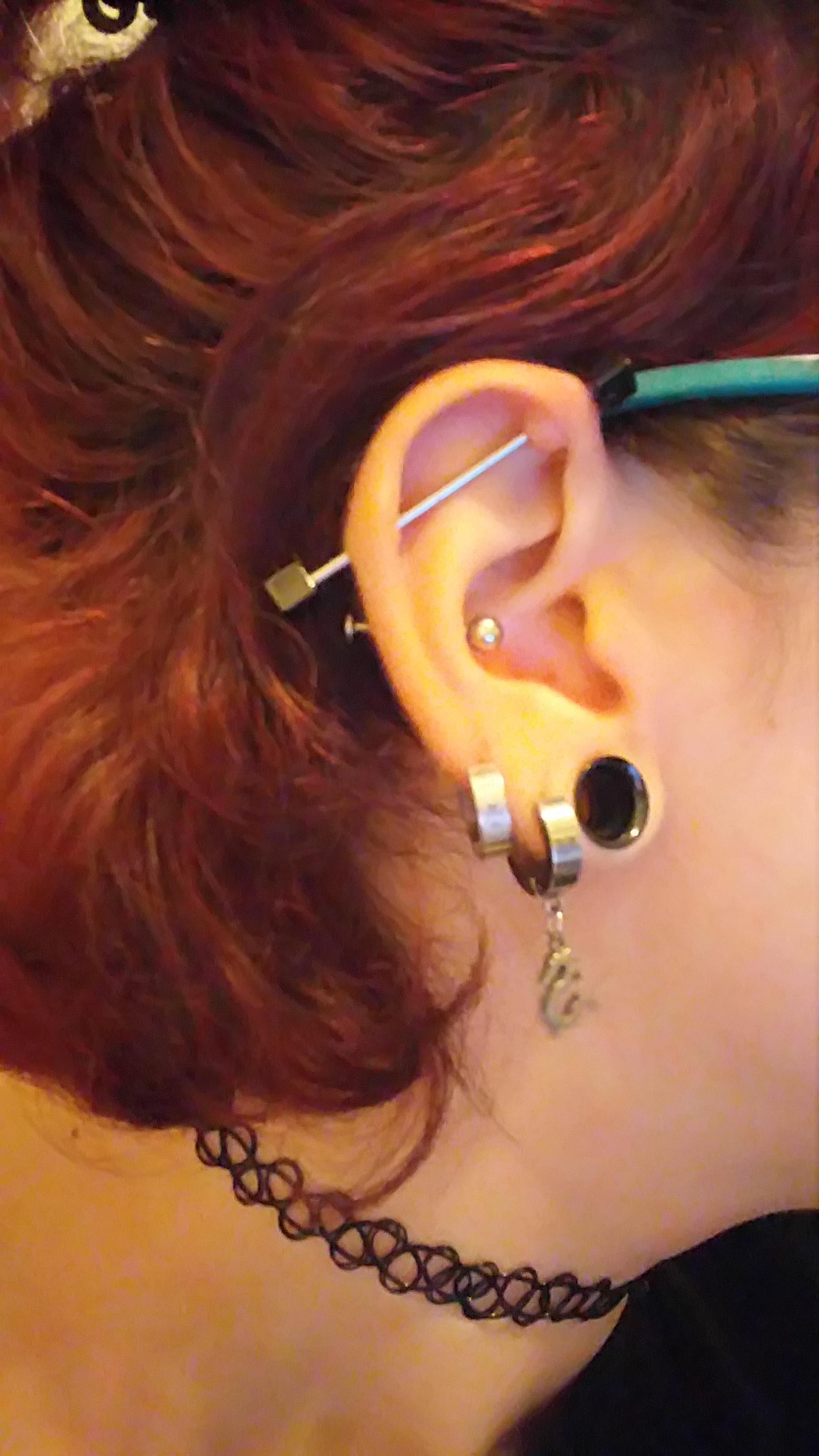 Persistent Bump On 3 Year Old Industrial Piercing Help Piercing