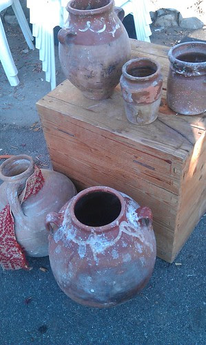 discarded pottery