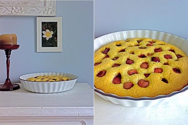 la mia torta di ciliegie