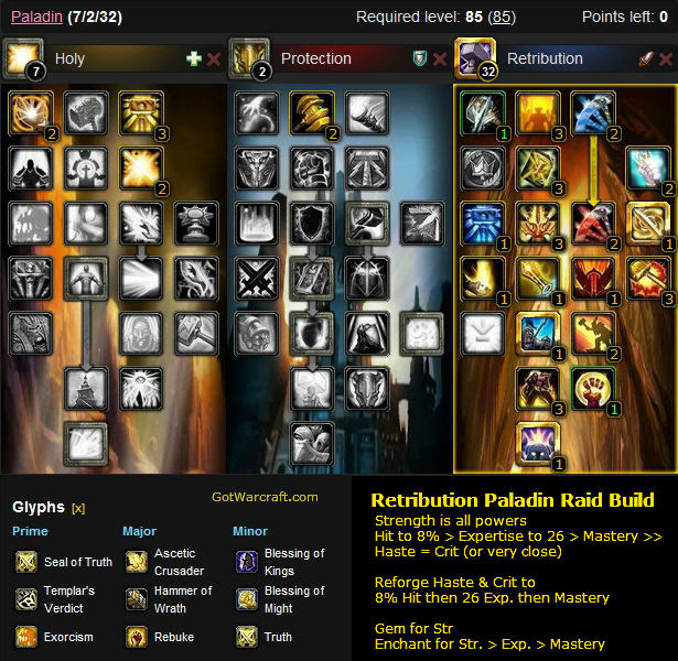 Paladin Guide for the Mists of Pandaria