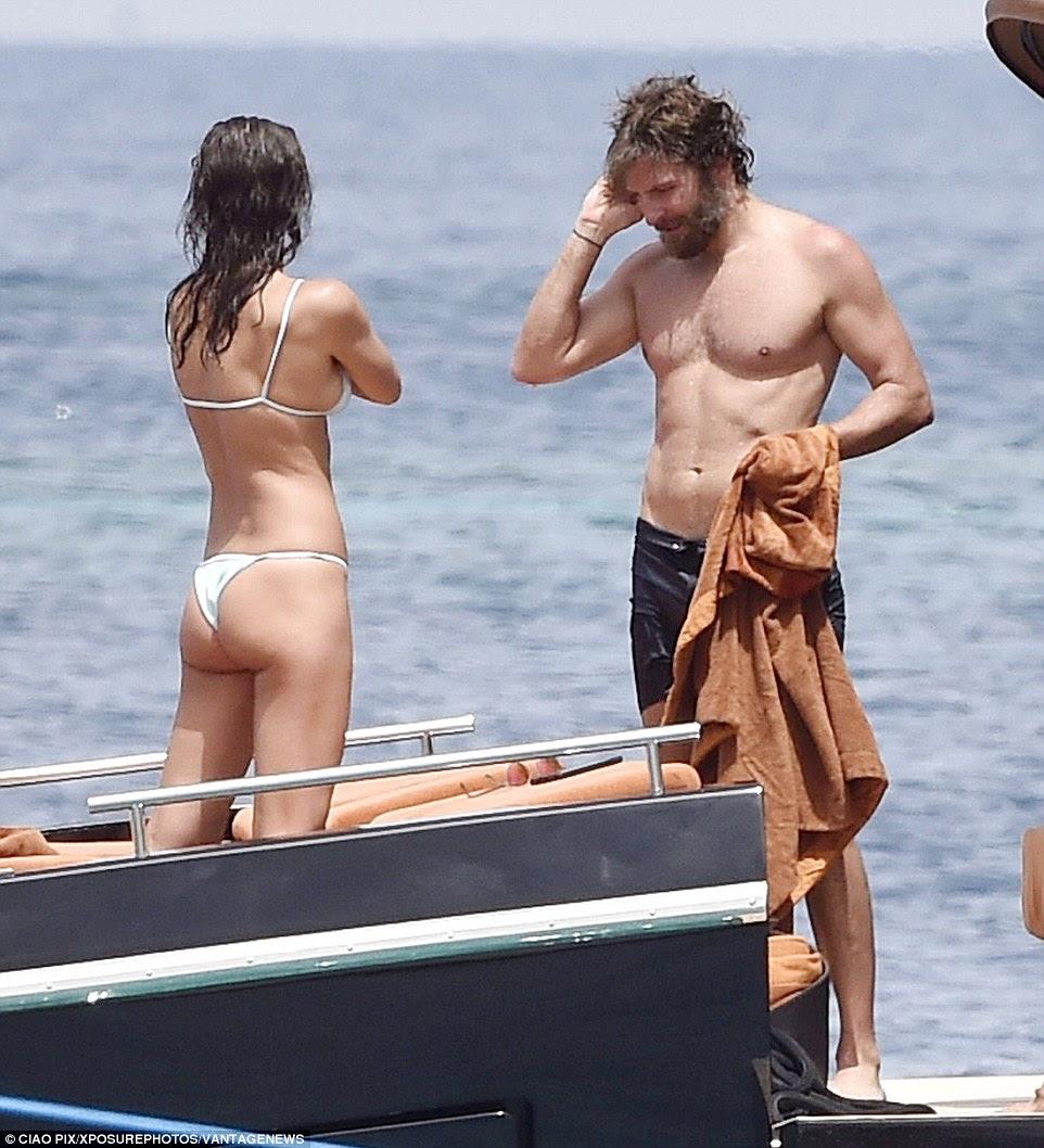 Nem Bradley ou Irina ter falado publicamente sobre seu relacionamento, mas parece ter-se tornado sério, depois que o modelo conheceu a mãe de seu namorado - com quem ele está muito perto - em setembro passado