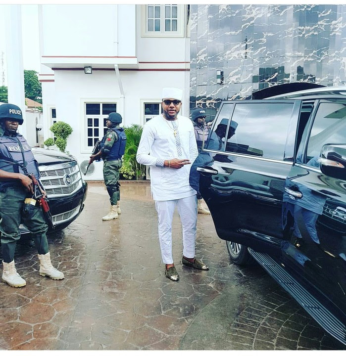E-money And His Security Detail In His Five Star Mansion (Photos)
