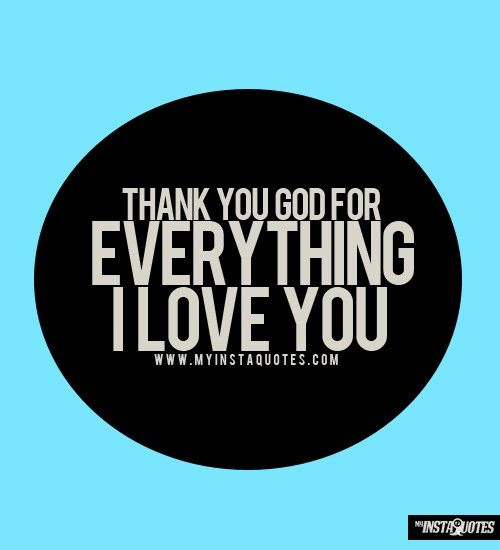 Thank You God For Ev Positive Quotes Inspiration Positive Words