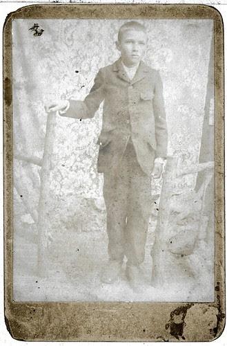 Boy portrait enhanced