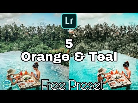 5 Free Orange And Teal Preset For Lightroom Mobile | Orange