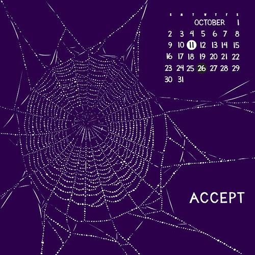 nikki mcclure 2011 calendar - october