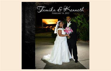 Tamika   Kenneth   Wedding Love Story Book ? Rick Grainger