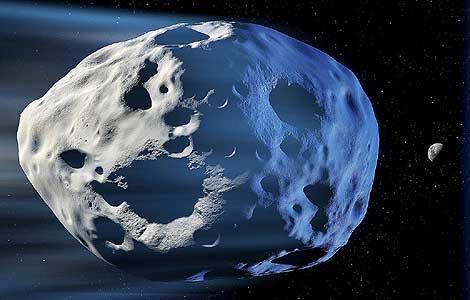 Recreación artística de un meteorito como el que cayó sobre nuestro planeta. | Science Photo Library