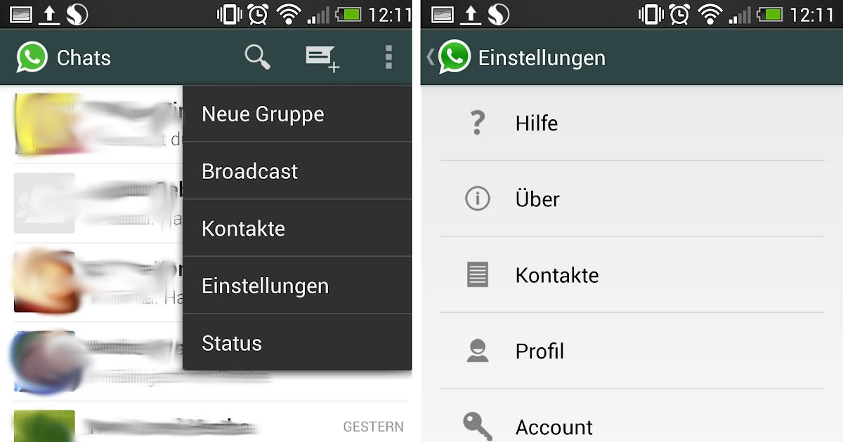 Whatsapp Profilbild Ausblenden