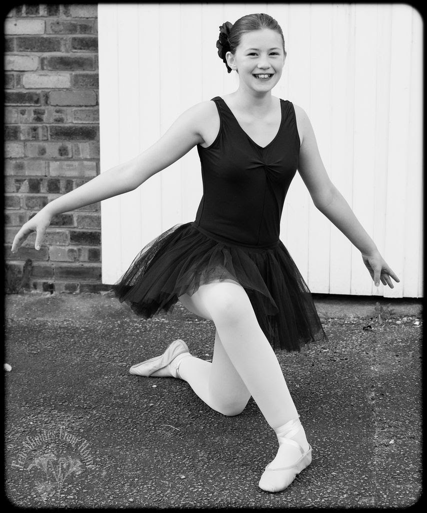 Tuesday May 29th, My eldest daughter was in a ballet show last week ~ dancing to Robbie William's Mr Bojangles. It was lovely ~ and so is she!! :D