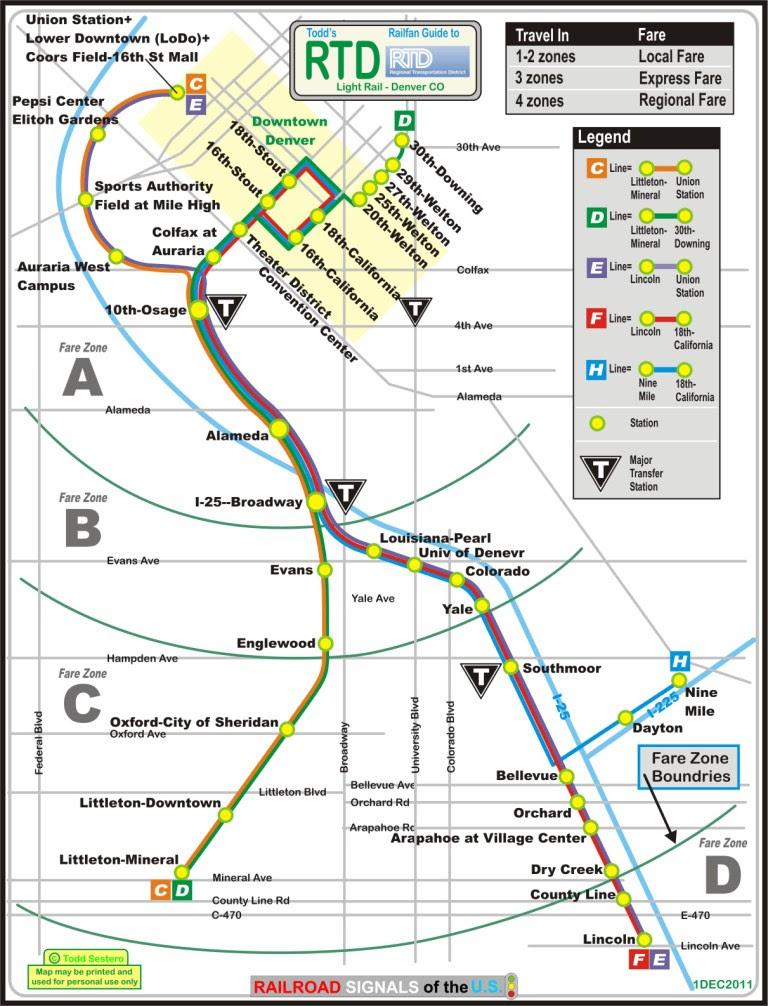 denver light rail map pdf Denver Light Rail Map denver light rail map pdf