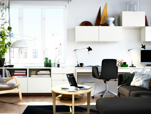 Ikea home office - modern