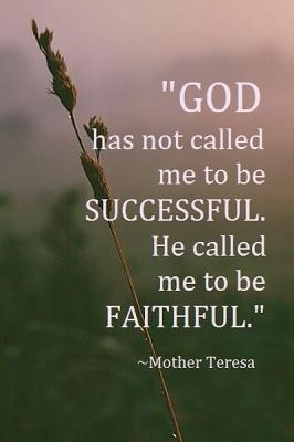 Faithfulness. Haven and Home