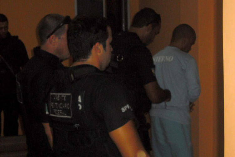 Fernandinho Beira-Mar chegou ao presídio federal de Mossoró no sábado, trasferido da Penitenciária de Catanduvas, no Paraná