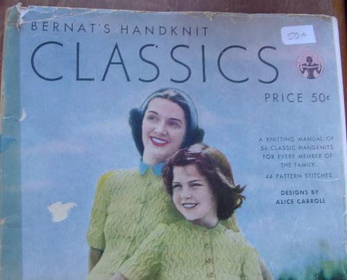 vintage Bernat booklet