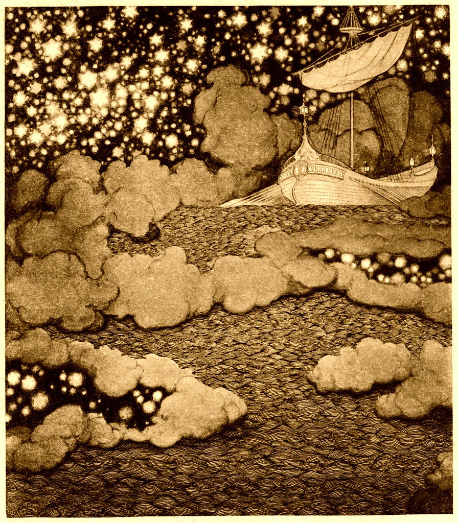 Sidney Sime - The Ship Of Yoharneth - Lahai (1911)