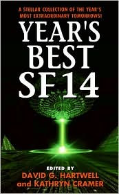 Year's Best SF 14 by David G. Hartwell: Book Cover