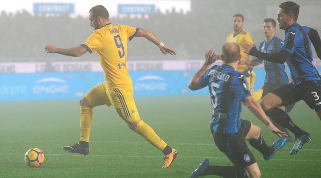 Higuain volta a marcar e Juve derrota Atalanta pela Copa
