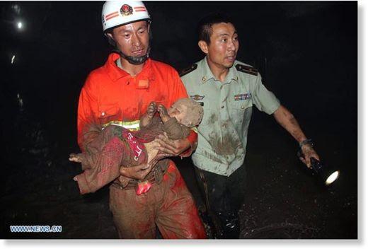 Hundimiento en China2