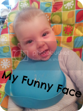 funny face baby