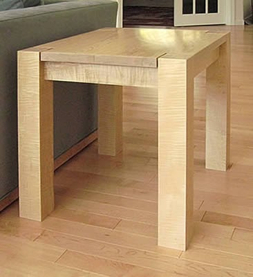 Random plan project fine woodworking end table for Table 6 4 cobol conversion project schedule