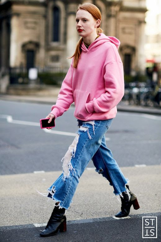 Le Fashion Blog LFW 12 Pairs Of Distressed Jeans To Shop Now Via The Style Stalker