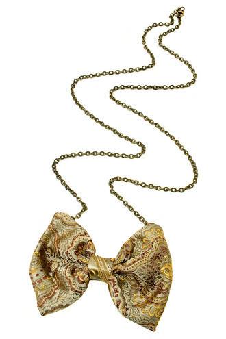 View Item Rock 'N Rose Vintage Dickie Bow Necklace