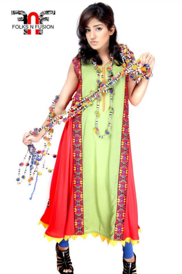 Girls-Womens-Ladies-Tops-Kurti-and-Tights-Fashion-for-Eid-by-Folks-N-Fusion-1