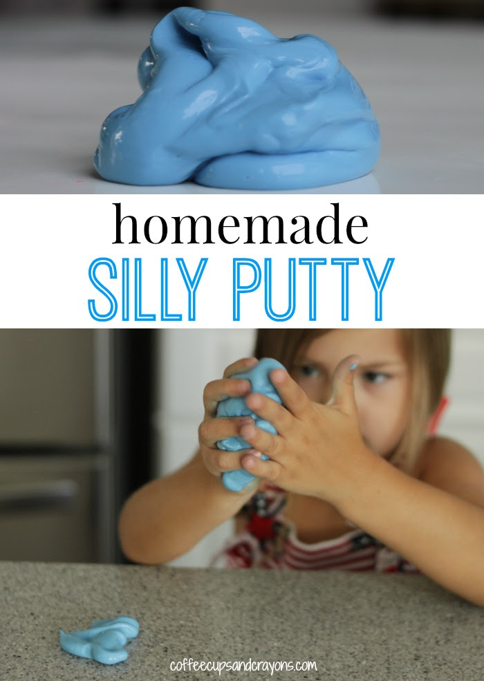 How to make Homemade Silly Putty Recipe