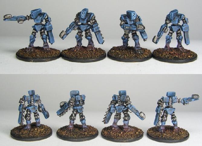 Mekanoid Grenadiers